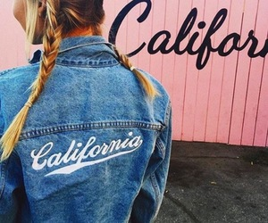 girl, california, and fashion image