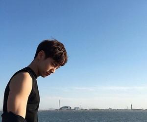 asian, korea, and boy image