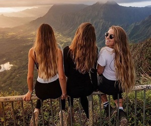 friends, goals, and travel image