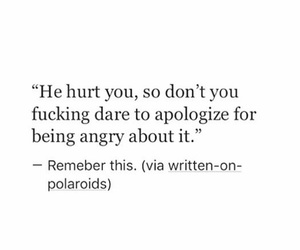 apologize, deep, and hurt image