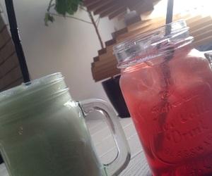 drinks, food, and midnight image
