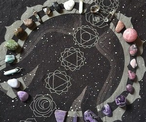candle, chakra, and light image