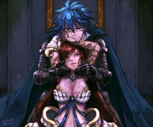 erza, anime, and fairy tail image