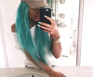aesthetic, blue, and turquoise image