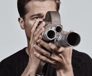 actor, brad pitt, and Hot image