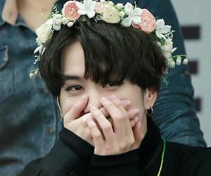 got7, yugyeom, and flower image
