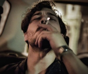 delibal, boy, and cigarette image