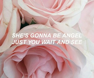 Lyrics, rose, and Harry Styles image