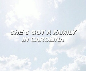 beauty, Carolina, and Lyrics image