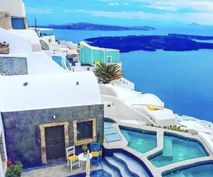 travel, amazing, and Greece image
