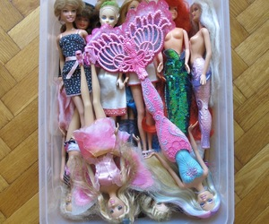 aesthetic, barbie, and dolls image