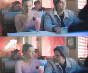 cole sprouse, veronica lodge, and archie andrews image