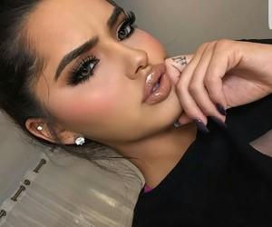makeup, meuf, and beaute image