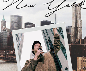 aesthetic, new york, and wallapaper image