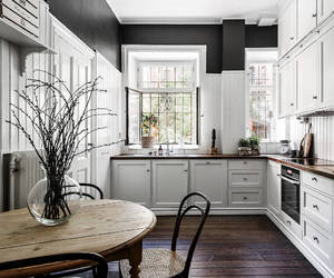kitchen, interior, and goals image