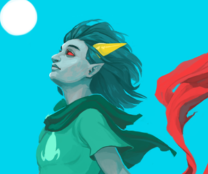 homestuck, terezi pyrope, and seer of mind image
