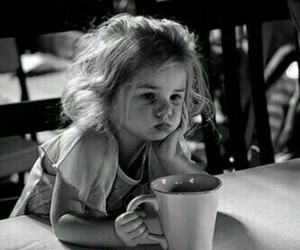 coffee, kids, and child image