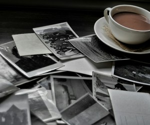 coffee, memories, and old image