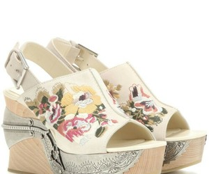 Alexander McQueen, clogs, and fashion image