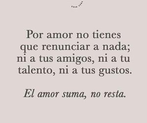 amigos, frases en español, and amor image