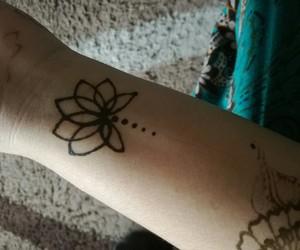 black, design, and henna image