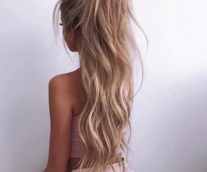 blond, tan, and cute image