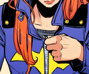 batgirl, barbara gordon, and batman image