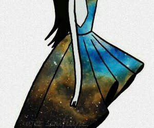 marceline, adventure time, and galaxy image