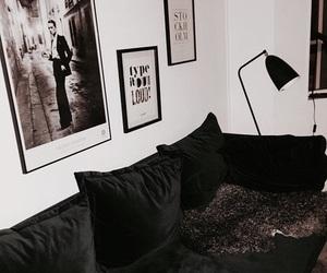 dark, home, and white image