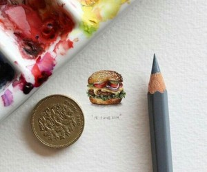art, food, and drawing image