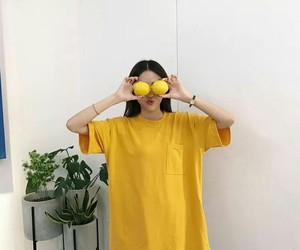 yellow and ulzzang image
