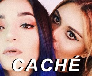 cache and girl image