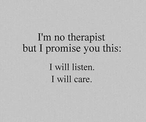 quotes, care, and listen image