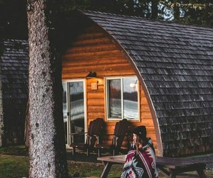 comfortable, chasing shadows, and cabin image