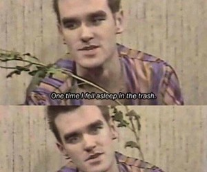 morrissey, the smiths, and trash image