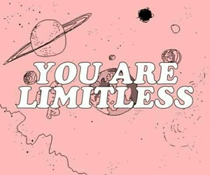 quotes, pink, and limitless image
