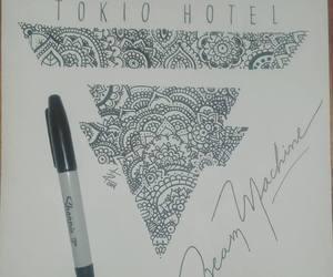 bill kaulitz, draw, and drawing image