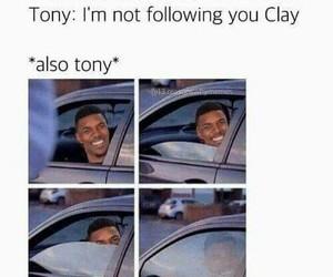 13 reasons why, tony, and clay image