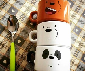mugs, panda, and osos image