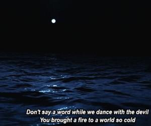 Lyrics, sea, and duke dumont image