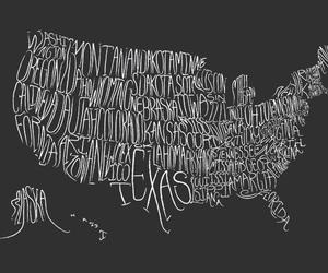 america, map, and usa image
