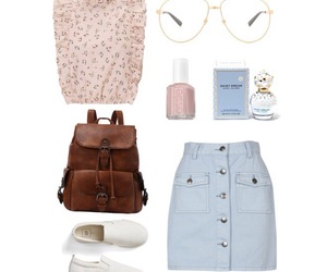 chic, denim, and fashion image