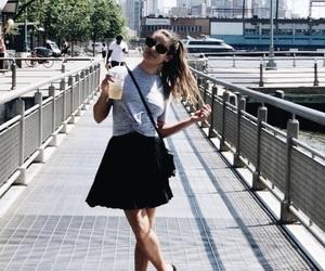 black, fashion, and newyork image