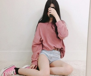 girl, fashion, and tumblr image