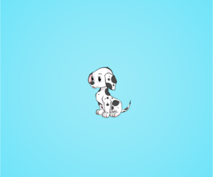 light blue, puppie, and cute image