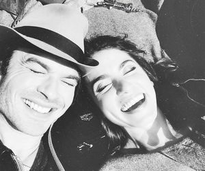 ian somerhalder, couple, and nikki reed image