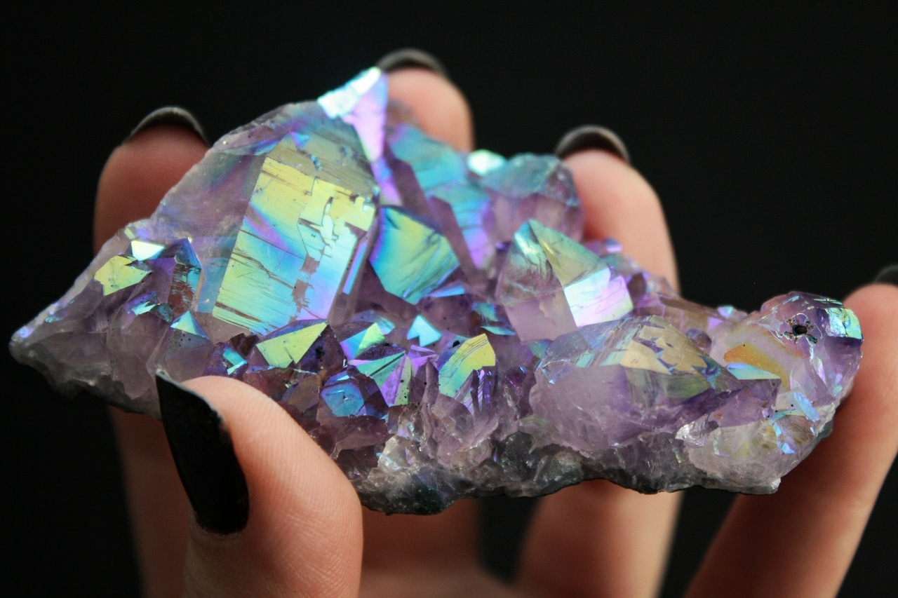 crystal, crystals, and magical image