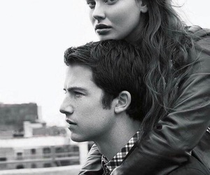 dylan minnette, 13 reasons why, and katherine langford image