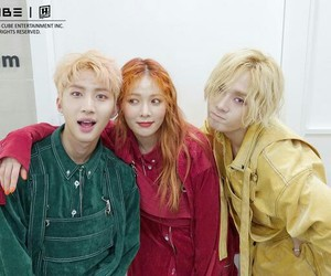 hyuna, hui, and edawn image