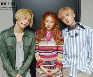 pentagon, hyuna, and triple h image